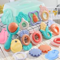 婴幼儿玩具抓握训练早教益智摇铃手抓可咬六七九个月宝宝0-1岁