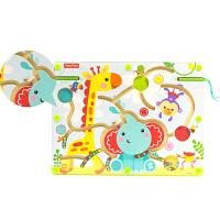【当当自营】费雪Fisher Price 早教益智 磁石玩具 运笔迷宫-动物乐园木制玩具FP3001