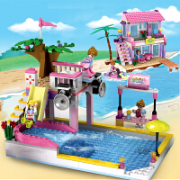积高兼容乐高积木 女孩益智力拼装梦幻房子3-6-8-10周岁儿童玩具
