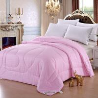 [当当自营]兰祺家纺棉花被 纯棉被子 加厚冬被 学生宿舍被芯 粉色回字格1.5*2米