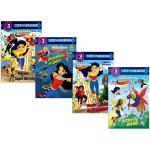 DC Super hero Girls 4册 step into reading 美国兰登经典分级读物 英文原版