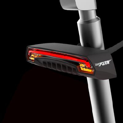 自行车骑行尾灯激光安全镭射智能无线骑行装备 品质保证 售后无忧 支持货到付款