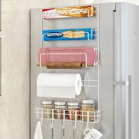 林仕屋 创意冰箱架挂架侧壁挂架 厨房收纳置物架调味料架整理架子Z623