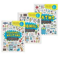 Help With Homework Age 5 帮助你做作业 幼儿趣味家庭教辅3册套装 5岁 幼儿园适用 儿童英文原