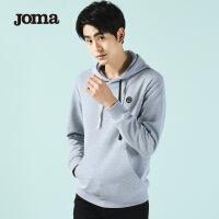 JOMA荷马运动卫衣男士春季新款套头连帽卫衣舒适运动服上衣