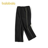 【3件5折价:80】巴拉巴拉女大童裤子儿童运动裤简约舒适百搭柔软春装童装