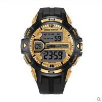 大方时尚多功能日历智能表电子手表男防水闹钟运动跑步计时表
