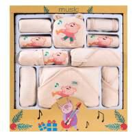 彩棉衣服婴儿礼盒套装夏季初生满月刚出生宝宝礼物用品大全新生女
