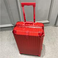 铝框拉杆箱万向轮女旅行箱20登机行李箱学生密码箱26皮箱子24寸男