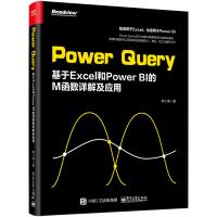 Power Query基于Excel和Power BI的M函数详解及应用 软件数据处理分析从入门到精通M函数语法参数用