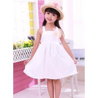 童装女童连衣裙韩版 儿童公主夏装新款 裙吊带裙子 可礼品卡支付