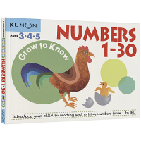 Kumon Grow to Know Numbers 1-30 Ages 3 4 5 公文式教育 数学 数字1-30
