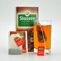 司迪生 玫瑰风味红茶1.5g*25茶包/盒 斯里兰卡锡兰红茶袋泡茶