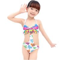 儿童泳衣女童中大童公主宝宝小女孩游泳衣走秀 温泉泳装