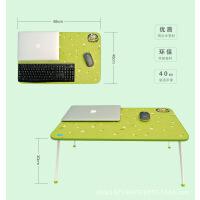 潮花纹加高加宽巨无霸床上电脑桌床上书桌笔记本电脑桌 大号折叠桌