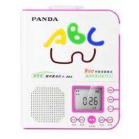 PANDA/熊猫F-365英语复读机随身听磁带播放机初中小学生儿童放磁带的录音U盘mp3插卡可充电播放器红色