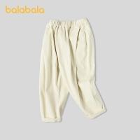 巴拉巴拉女童长裤宝宝裤子春季2021新款小童儿童休闲裤老爹裤时尚