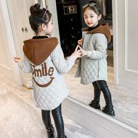 女童外套秋冬装儿童韩版大衣毛呢子风衣
