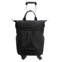 拉杆包旅行包20寸万向轮拉轩包旅行包女帆布印花行李箱旅行箱拉杆拖拉登机 20寸