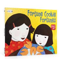 【全店300减100】吴敏兰书单推荐进口英文原版Fortune Cookie Fortunes 中国风绘本 儿童启蒙阅读