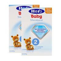 荷兰美素(Hero Baby)奶粉2段(6-10个月宝宝)800g两盒装包邮