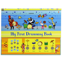 Usborne My first Drumming Book 宝宝音乐启蒙 音乐发声书英语打鼓书 发声玩具 2~6岁