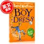 现货 穿裙子的小男子汉 英文原版 BOY IN THE DRESS PB 大卫・少年幽默小说系列 大卫・威廉姆斯 罗尔德・达尔继承人 儿童小说