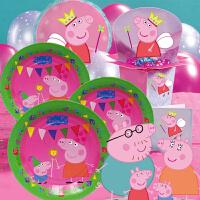 孩派 生日派对装饰用品 粉红猪小妹Peppa Pig小猪佩奇主题生日套餐
