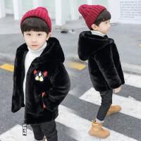 男童棉衣潮 宝宝冬装中小儿童冬季毛毛衣外套