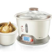 一锅五胆电炖锅 白瓷隔水电炖盅 煲汤煮粥锅