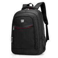商务双肩包男 书包中学生女双肩电脑包 旅行男士背包.英寸大容量