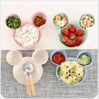 碟子 厨房卡通分格小吃蘸料碟创意餐具醋碟调味碟子