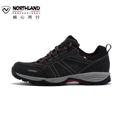 【顺心而行】诺诗兰19新款男式登山旅行徒步鞋户外休闲运动低帮鞋FH085505 全场顺丰包邮