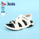 【1件2折后:59元】红蜻蜓夏季新款凉鞋男女童个性潮流露趾透气舒适时尚儿童凉鞋