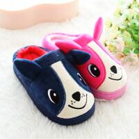 儿童室内棉拖鞋男女幼儿园宝宝拖鞋无味大小中童亲子毛毛拖鞋
