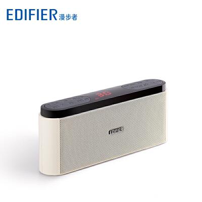 Edifier/漫步者 M19收音机老人插卡小音箱可充电随身听音乐播放器便携式外放迷你老年听戏机评书唱戏曲播放机 双喇叭 超长续航 收音点歌 支持TF卡