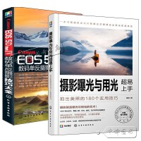 2册 Canon EOS 5D Mark IV数码单反摄影技巧大全+摄影构图超易上手 拍出美照的180个实用技巧 佳能5