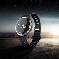 圆屏智能手环IP67深度防水 运动计步骑行健身多功能蓝牙手腕表
