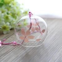 樱花瑶日式玻璃挂饰江户和风风铃礼品批发同学礼物