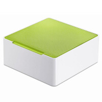 香港品牌32片光盘盒 minibox迷你CD盒 光碟存储盒7507CD收纳盒架
