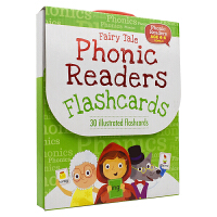 Fairy Tale Phonic Readers Flashcards Level 3 自然拼读闪卡3阶 幼儿儿童英