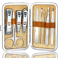多功能不锈钢指甲刀套装修甲套装指甲剪刀指甲钳套装修甲修脚工具