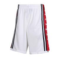 NIKE耐克男裤运动五分裤休闲篮球裤短裤BQ8393-100