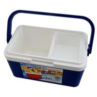 家用冷热保温箱便携车载冷藏箱野餐冰箱钓鱼箱药品箱8L
