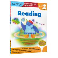 【首页抢券300-100】Kumon Reading Workbooks G2 公文式教育 英文原版图书教辅 小学二年级