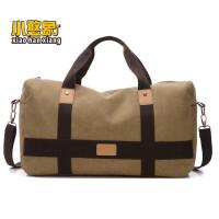 新款韩版帆布女包男包手提包单肩包斜挎包休闲吧户外旅行大包XK
