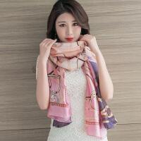 围巾女秋冬季长款披肩丝巾长款