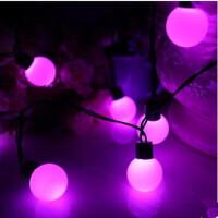 led串灯4厘米大圆球装饰灯高亮彩灯宿舍过年新年婚庆用品节日