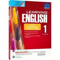 SAP Learning English Workbook 1 小学一年级英语练习册在线测试版 新加坡教辅 新亚出版社