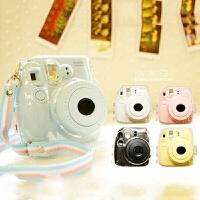 富士拍立得mini8/9相机壳 mini8s/9透明水晶壳 硅胶套 迷你8+保护壳 保护套